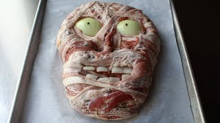 Zombie Meatloaf - Scary Halloween Meatloaf Recipe