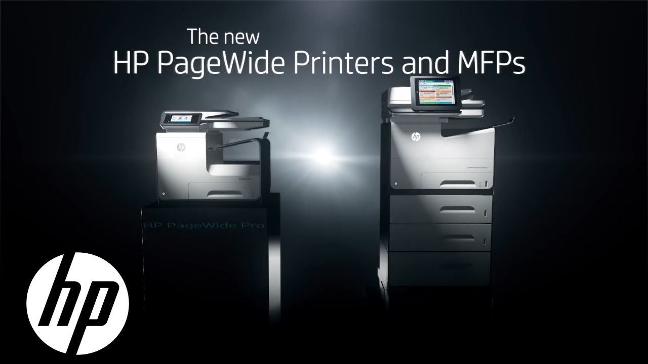 d28146f764c HP PageWide Printers and MFPs | Official First Look | HP - YouTube