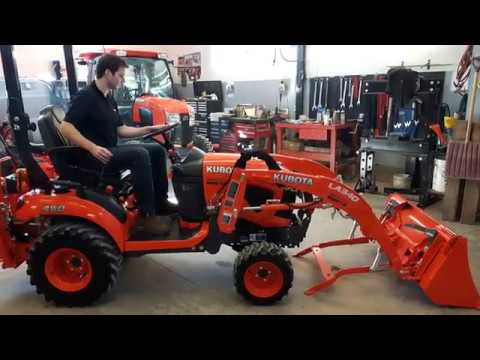 Kubota Front End Loader >> Kubota BX23S Loader Removal & Install - YouTube