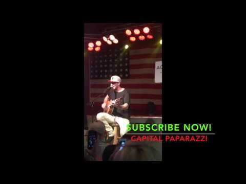 Country Singer Sam Hunt Performs In Charlotte North Carolina In 2015