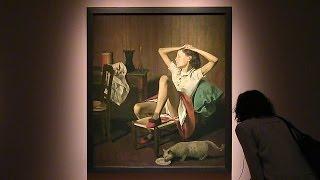 バルテュス《夢見るテレーズ》 東京都美術館 バルテュス展 夢見るテレーズ 検索動画 1
