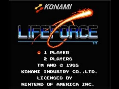 Life Force / Salamander (Nes) - No Death Run