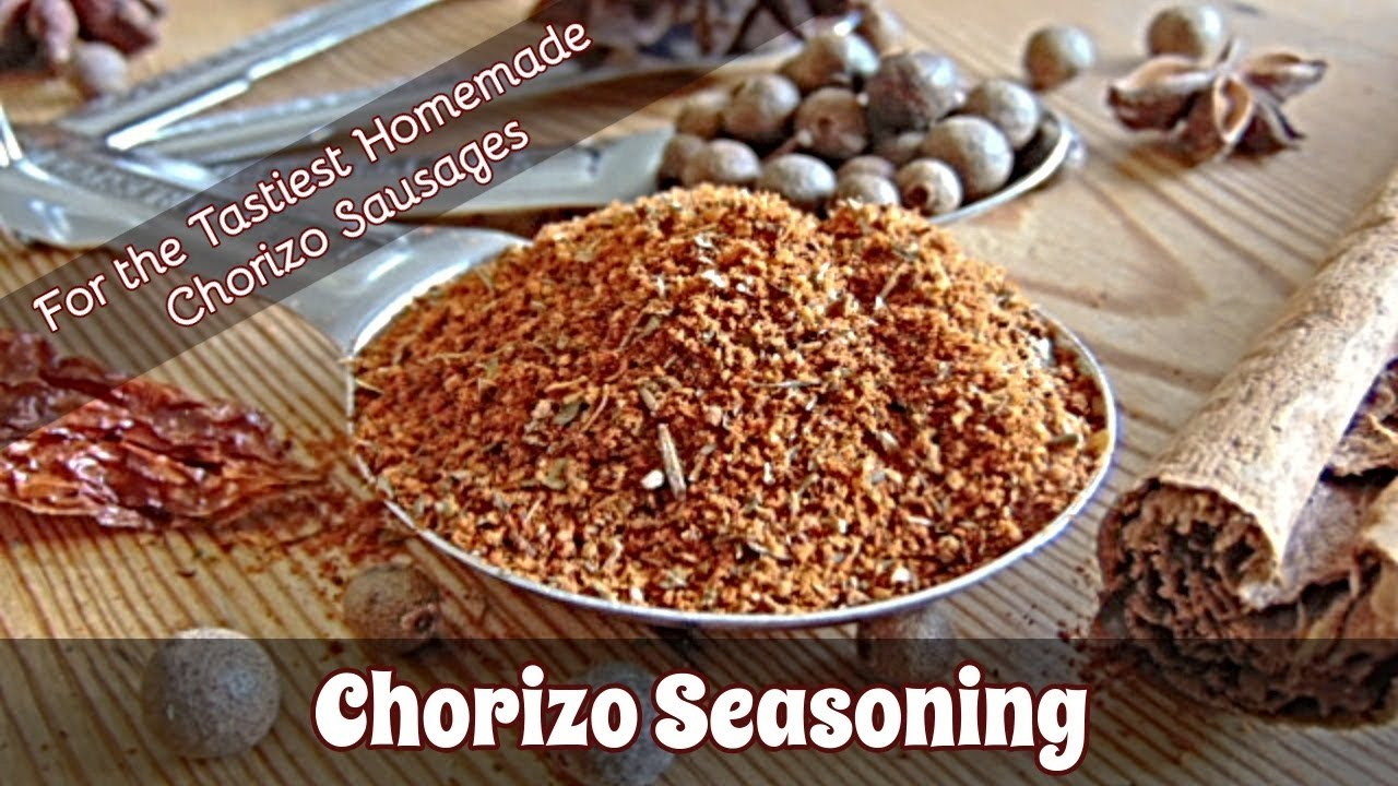 How to Make Chorizo Seasoning - Fabulous Flavours For Your Homemade Chorizo Sausages | #127