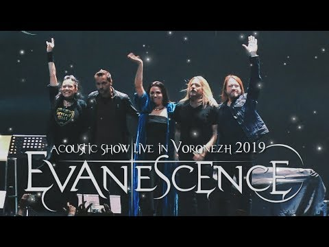 Evanescence - Exclusive Acoustic Show 23/09/2019 (Live In Voronezh) FULL