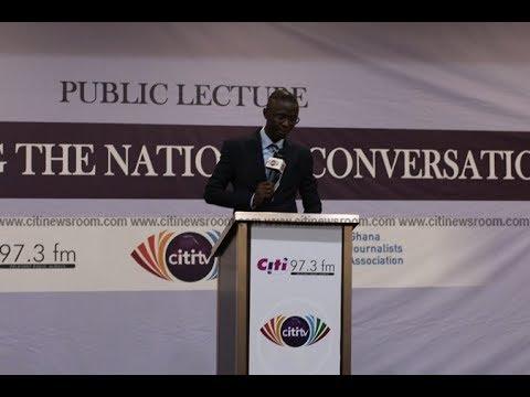 #AvleSpeaks : Bernard Avle delivers lecture