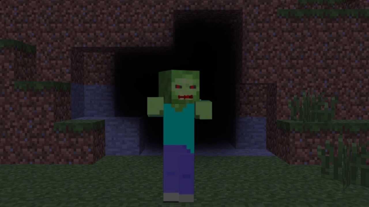 Minecraft Zombie Live Wallpaper - YouTube