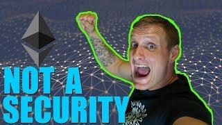 SEC Announces Ethereum is Not a Security