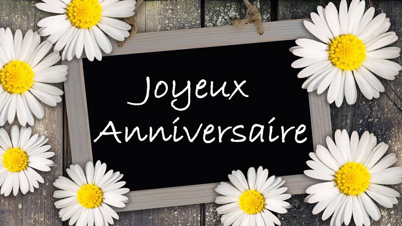 Joyeux Anniversaire Jolie Carte Virtuelle D Anniversaire Theme Nature Ecologie Youtube