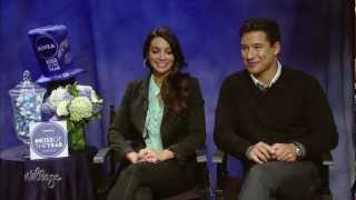 Ouch! Mario Lopez