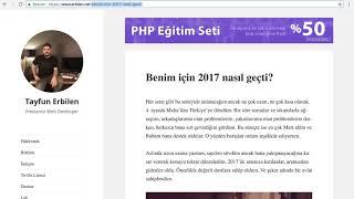 PHP Dersleri Ders 99 PHP ile Arama Motoru Dostu SEF Linkler Oluşturmak