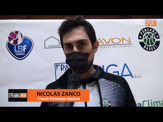 Schiavon Ponzano Basket - Basket Carugate 62 - 69 le parole di Coach Zanco
