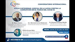 CONVERSATORIO INTERNACIONAL ÉTICA E INTEGRIDAD JUDICIAL