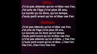 Lefa - 20 ans (Paroles)