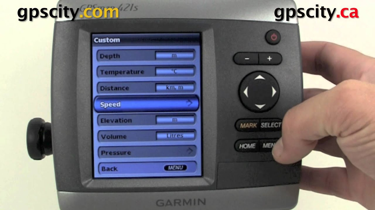 Garmin Gpsmap 421 Video Manual Unit Preferences Youtube 300c Fishfinder Wiring Diagram