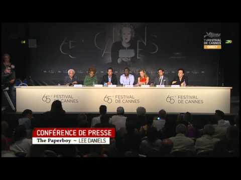 The Paperboy Full Press Conference - Cannes Film Festival 2012 (Lee Daniels)