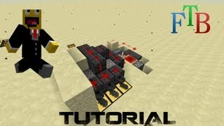 Spice FTB Tutorial - Tinkers Construct fully automated smeltery