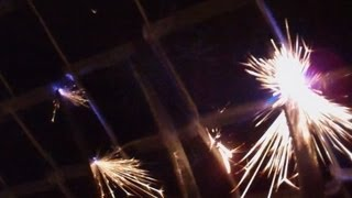 Hellmouth Vlog 10.16.12 [day 705] -  Sparking Fence!! (build Day 47)