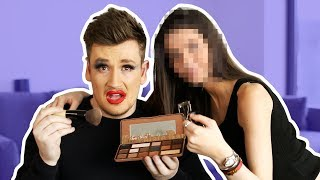MY GIRLFRIEND DOES MY MAKEUP (EPIC FAIL)