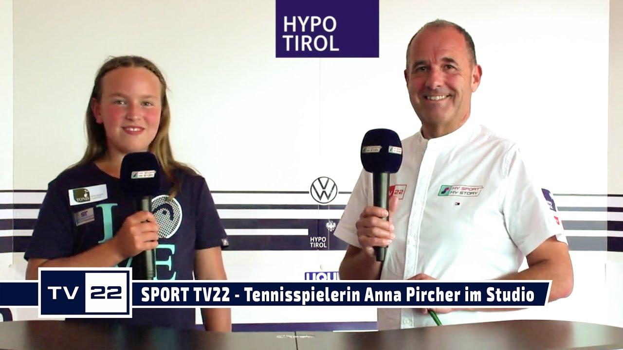 SPORT TV22: Die Nachwuchs-Tennisspielerin Anna Pircher