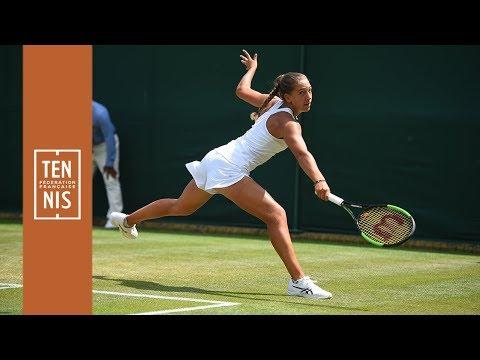 Wimbledon 2019 juniors : Parry stoppée en demi-finale