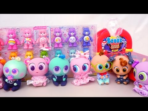 Thumbnail: Learning Colors With Distroller Toys for Kids, Care Bears & Toddlers - Stories With Toys & Dolls