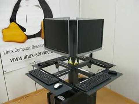 Multiseat Ubuntu internet kiosk