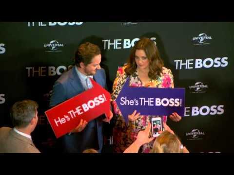 The Boss (2016) Australian Premiere
