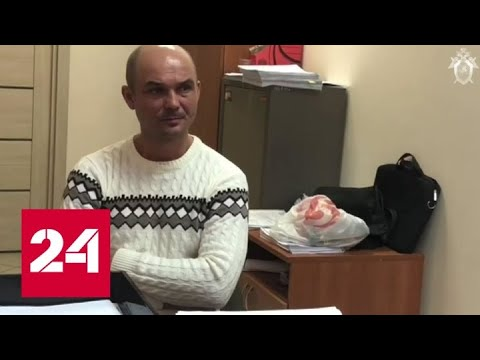 Опубликовано видео допроса мужчины, который бросил своих детей в Шереметьеве - Россия 24