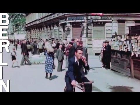 Берлин в июле 1945 (в цвете и HD 1080p)