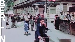 Berlin in July 1945 (HD 1080p color footage)(That's how it looked like just after the German surrender! Fascinating moving pictures in color show the situation of the city in summer 1945 and daily life in the ..., 2015-04-28T20:00:00.000Z)