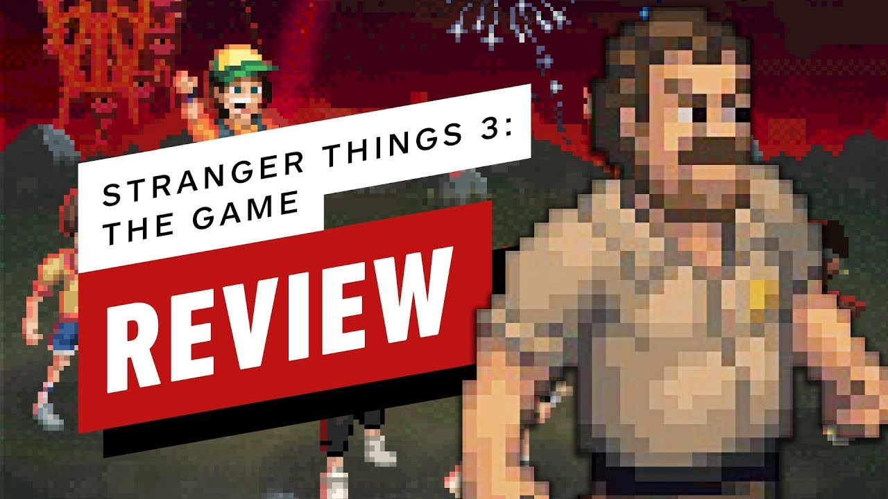 Stranger Things 3: The Game Review - YouTube
