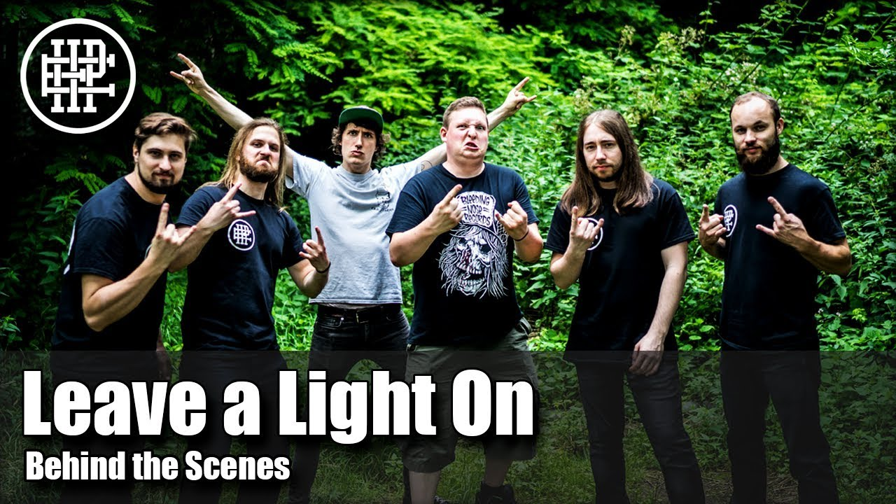 HALF PAST EIGHT - Leave a Light On (Behind the Scenes)