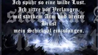 Subway to Sally - Geist des Kriegers (Lyrics)