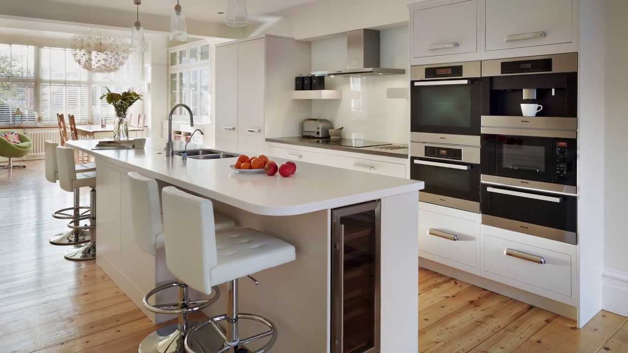 Harvey jones kitchens linear youtube for Linear kitchen design