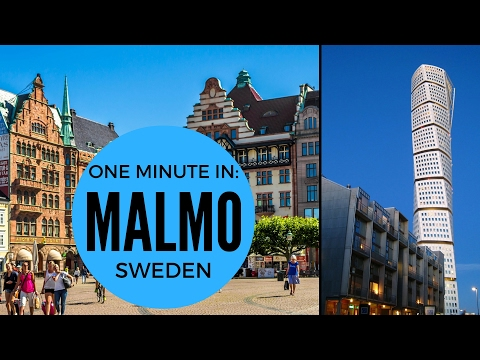ONE MINUTE IN: MALMO | SWEDEN TRAVEL