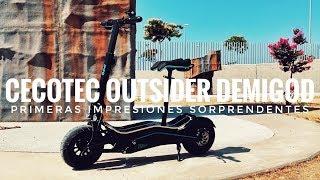 Cecotec Outsider Demigod - Primeras impresiones Sorprendentes!