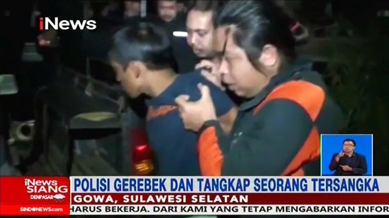 Download Polisi Tangkap Tersangka Pembunuh Pemuda dalam Karung di Gowa, Sulsel - iNews Siang 10/03