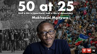 Twenty-five years of democracy is a milestone that South Africans are grappling to understand. Do we commemorate it, or is there still too much to fix before we celebrate? We spoke to 50-year-old South Africans who have lived half their lives in apartheid and the other half in democracy for some perspective.  Makhosini Mgitywa is a media practitioner, born in Pongola, KwaZulu-Natal. He spoke to Eyewitness News about what he thinks about the two halves of his life.