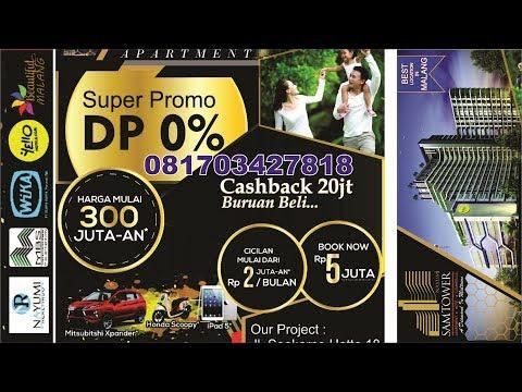Nayumi Samtower Apartemen Malang - Super Promo Dp 0% Cash Back 20 juta
