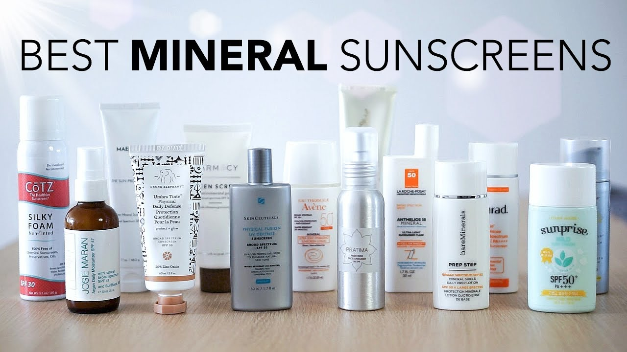 Best 100 Mineral Sunscreens Review Youtube Nivea Moisture Sun Lotion Spf 50 M