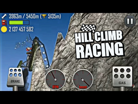 Hill Climb Racing - Mountain 5366m on SUPER Off-Road