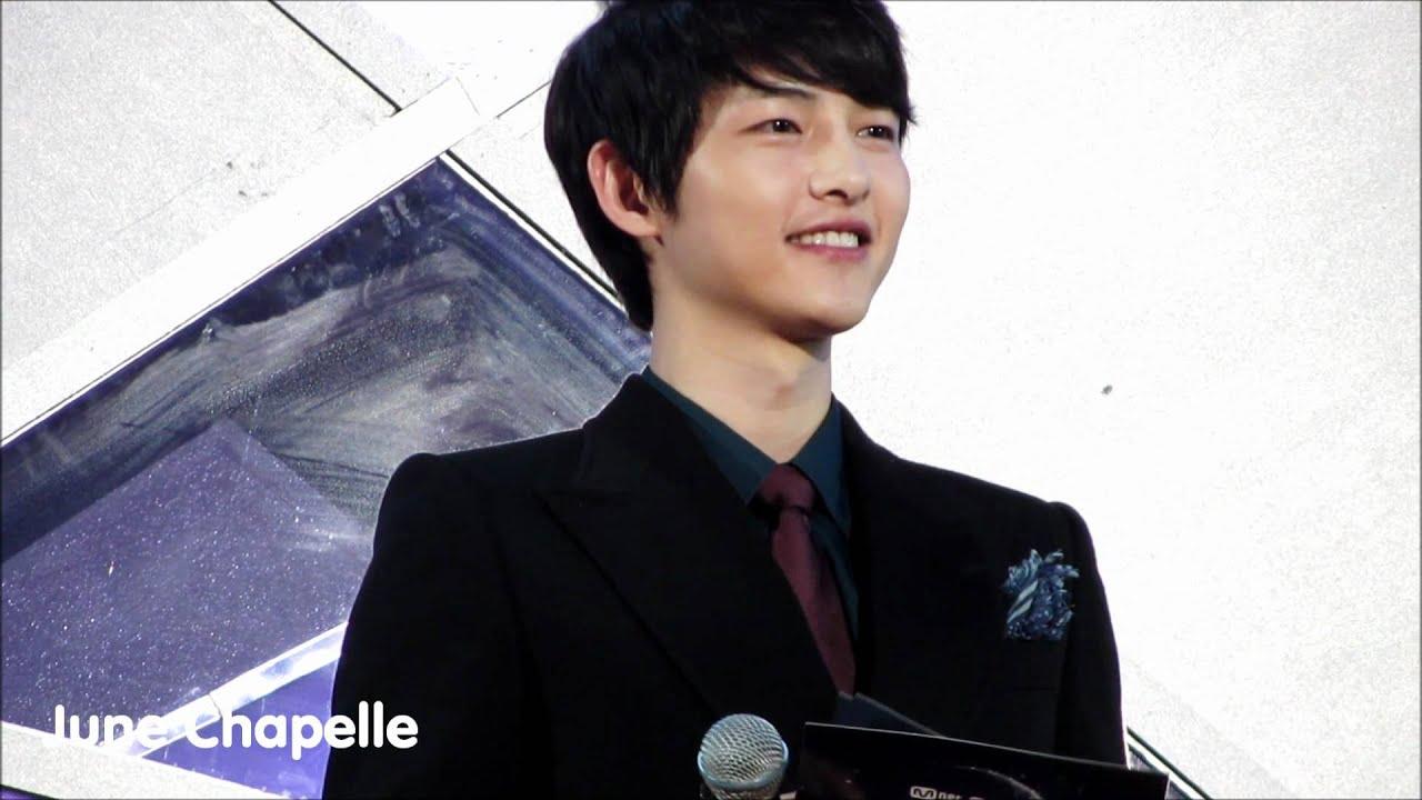 20111129 Song Joong Ki MC Cut @ MAMA Awards