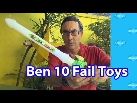 Bootleg Ben 10 Rip Off Fail Toys!