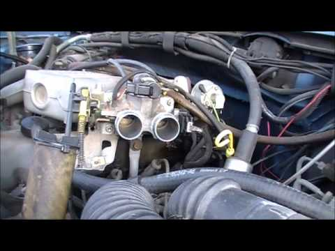 cleaning a ford throttle body part two