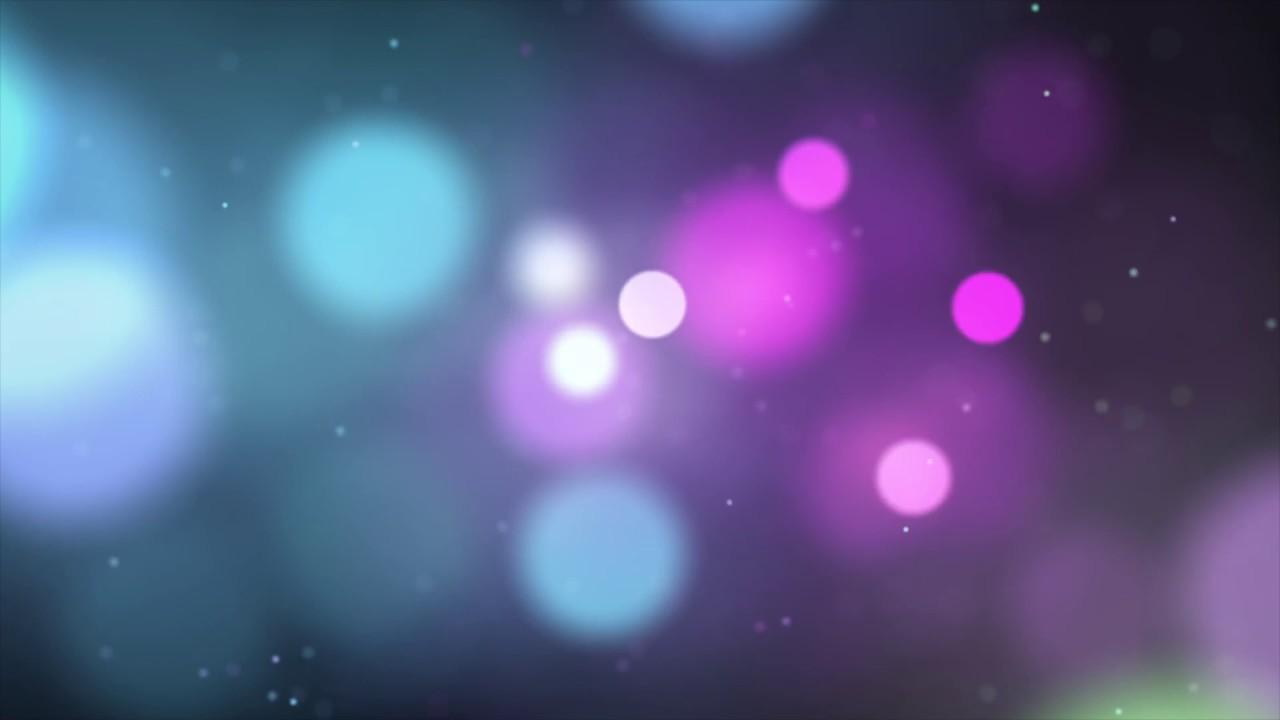 Unfocused All Colors Circles K Relaxing Screensaver