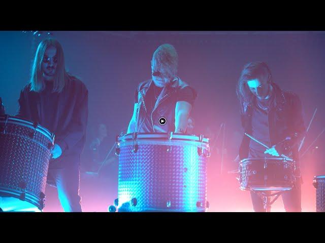 Ray - Moscow HooK / Барабанное шоу барабанщиков с Симфоническим оркестром. Клубная танцевальная