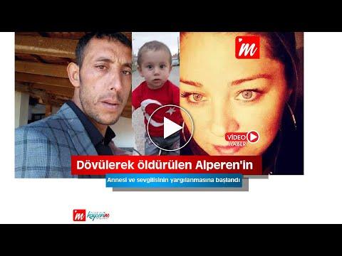 Dövülerek öldürülen Alperen'in annesi ve sevgilisinin yargılanmasına başlandı