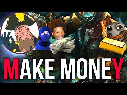 Tobias Fate - LOOK AT THAT BACKLINE DMG BABY! MONEY MAKING RUNES | League of Legends