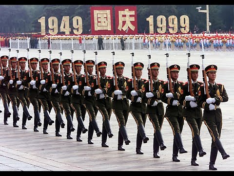 解放軍1999年國慶大閱兵 Military parade Beijing China PLA