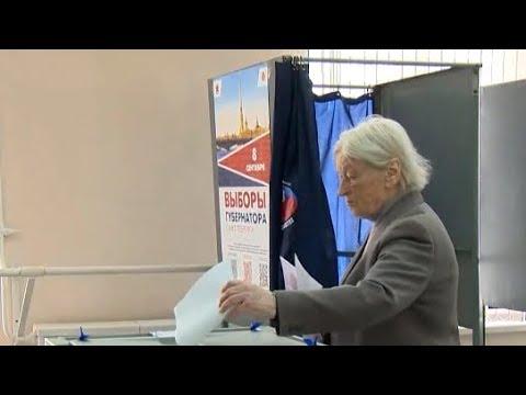 В Петербурге по итогам выборов губернатора победил Беглов